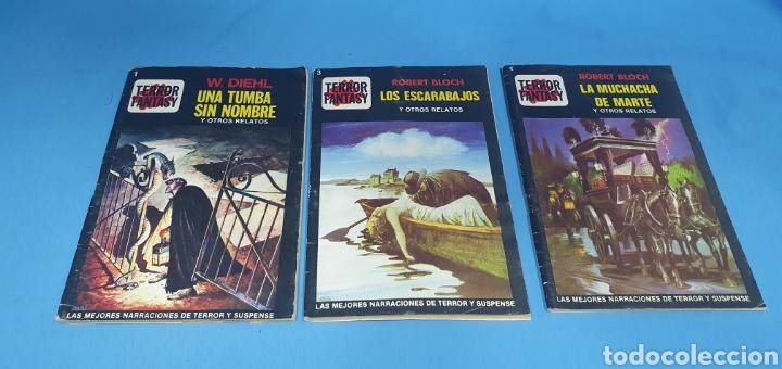 TERROR FANTASY - LAS MEJORES NARRACIONES DE TERROR Y SUSPENSE - NÚMEROS 1 -3 Y 4 (Libros Nuevos - Literatura - Narrativa - Terror)