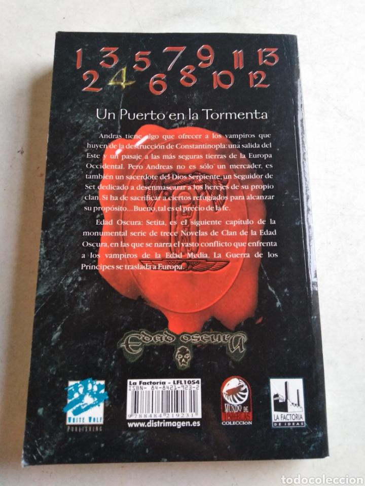 Libros: Edad oscura, Sesica,vampiro, 1 edición - Foto 2 - 213193143