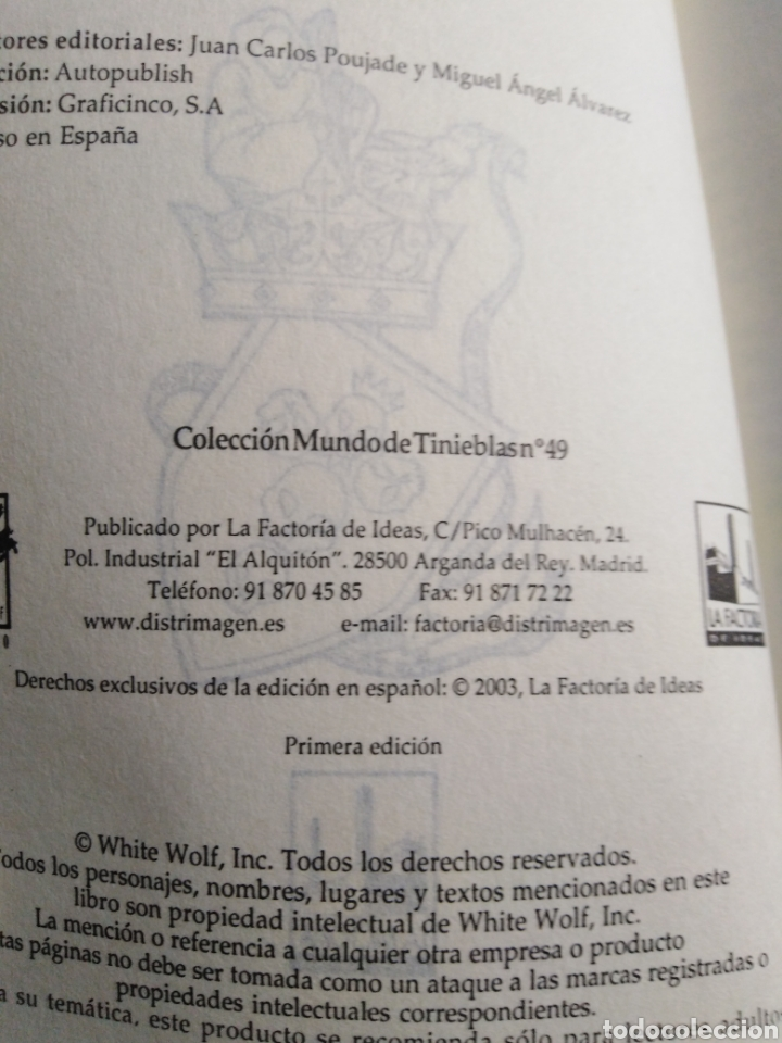 Libros: Edad oscura, capadocio, vampiro, 1 edición - Foto 3 - 213193333