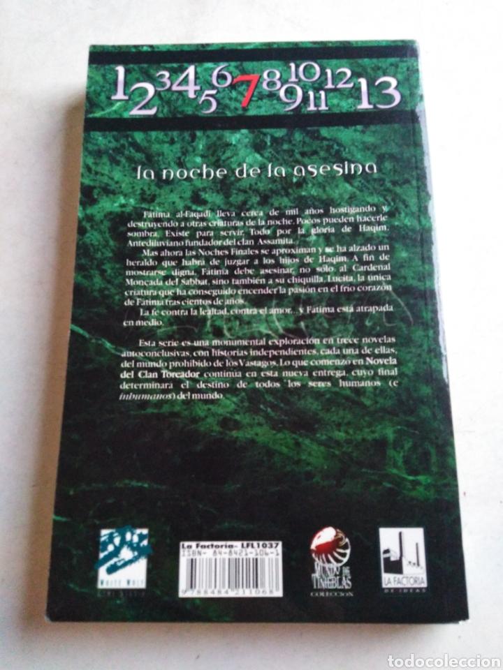 Libros: Assamita, vampiro la mascarada, 1 edición - Foto 2 - 213194096