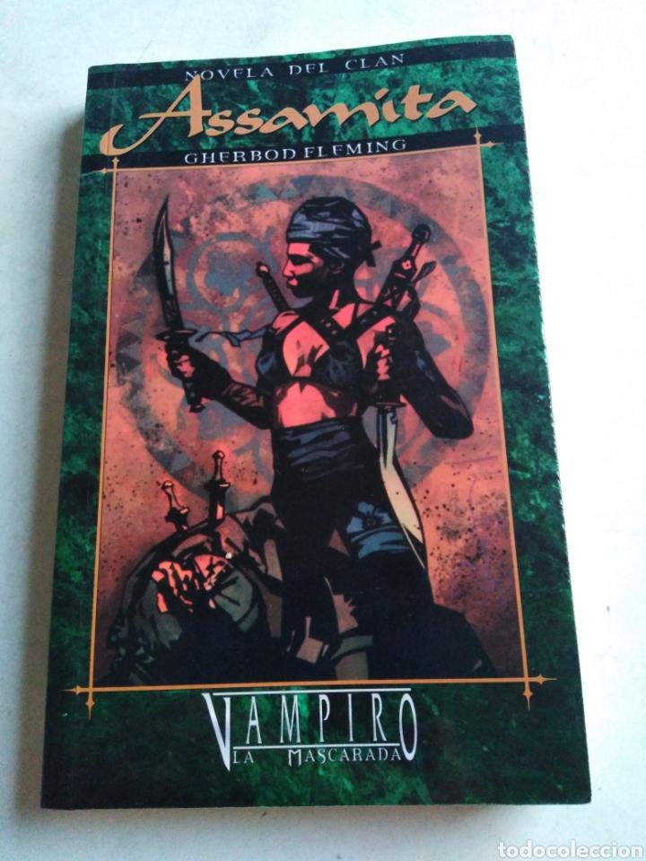 ASSAMITA, VAMPIRO LA MASCARADA, 1 EDICIÓN (Libros Nuevos - Literatura - Narrativa - Terror)