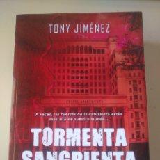 Libros: TORMENTA SANGRIENTA. Lote 214979997