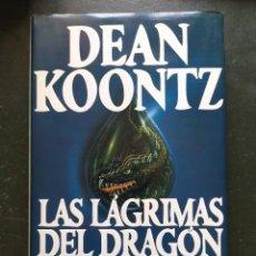 Libros: LAS LÁGRIMAS DEL DRAGÓN. Lote 218390528