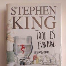 Libros: TODO ES EVENTUAL (2001). Lote 218522105