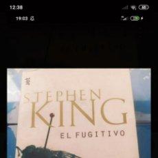 Libros: EL FUGITIVO, STEPHEN KING. Lote 218783872