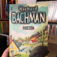 Libros: RICHARD BACHMAN POSESION PLAZA Y JANES. Lote 219594792