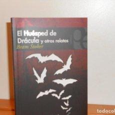 Libros: BRAM STOKER, EL HUÉSPED DE DRÁCULA Y OTROS RELATOS - PLUTÓN EDICIONES. Lote 219739303
