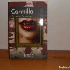 Libros: CARMILLA, SHERIDAN LE FANU - PLUTÓN EDICIONES. Lote 219741548