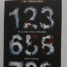 Libros: SE LO QUE ESTAS PENSANDO - JOHN VERDON. Lote 220290062