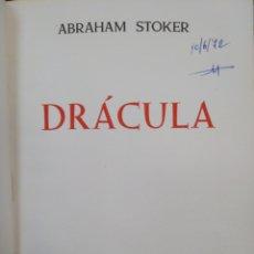 Libros: DRACULA-ABRAHAM STOKER-DIMA EDICIONES-BARCELONA 1968 1°EDICION-. Lote 221658227
