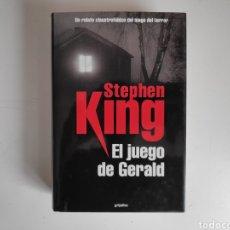 Livros: LIBRO. EL JUEGO DE GERALD, STEPHEN KING. Lote 221780545