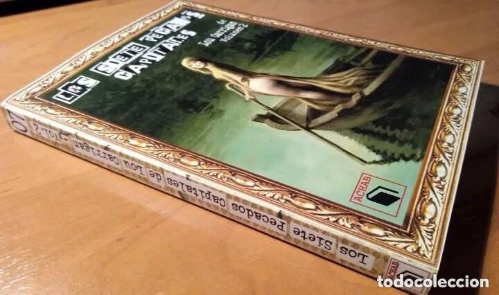 Libros: LOS SIETE PECADOS CAPITALES - LOU CARRIGAN - 2 VOLUMENES - COMPLETO - ACHAB - 1ª EDICIÓN - QUEDAN 2 - Foto 9 - 222125990