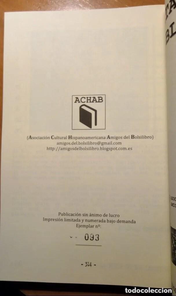 Libros: LOS SIETE PECADOS CAPITALES - LOU CARRIGAN - 2 VOLUMENES - COMPLETO - ACHAB - 1ª EDICIÓN - QUEDAN 2 - Foto 11 - 222125990