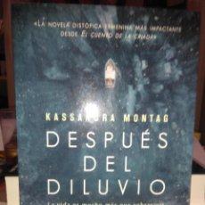 Libros: KASSANDRA MONTAG.DESPUÉS DEL DILUVIO.HARPER COLLINS. Lote 222508281