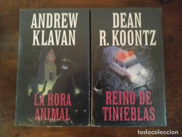 PAREJA NOVELAS .CÍRCULO DE LECTORES .PRECINTADAS (Libros Nuevos - Literatura - Narrativa - Terror)