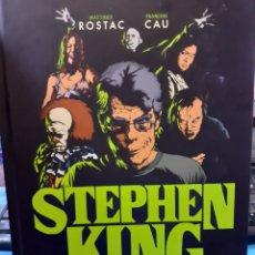 Libros: STEPHEN KING. GUIA ILUSTRADA DEL MAESTRO DEL TERROR. M. ROSTAC Y FRANÇOIS CAU. LUNWERG EDITORES.. Lote 236158325