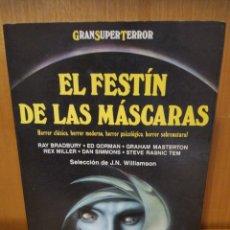 Libros: EL FESTÍN DE LAS MÁSCARAS. VARIOS AUTORES. MARTÍNEZ ROCA. Lote 240406140