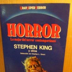 Libros: HORROR. SELECCIÓN DE STEPHEN KING. MARTÍNEZ ROCA GRAN SUPER TERROR. Lote 246036655