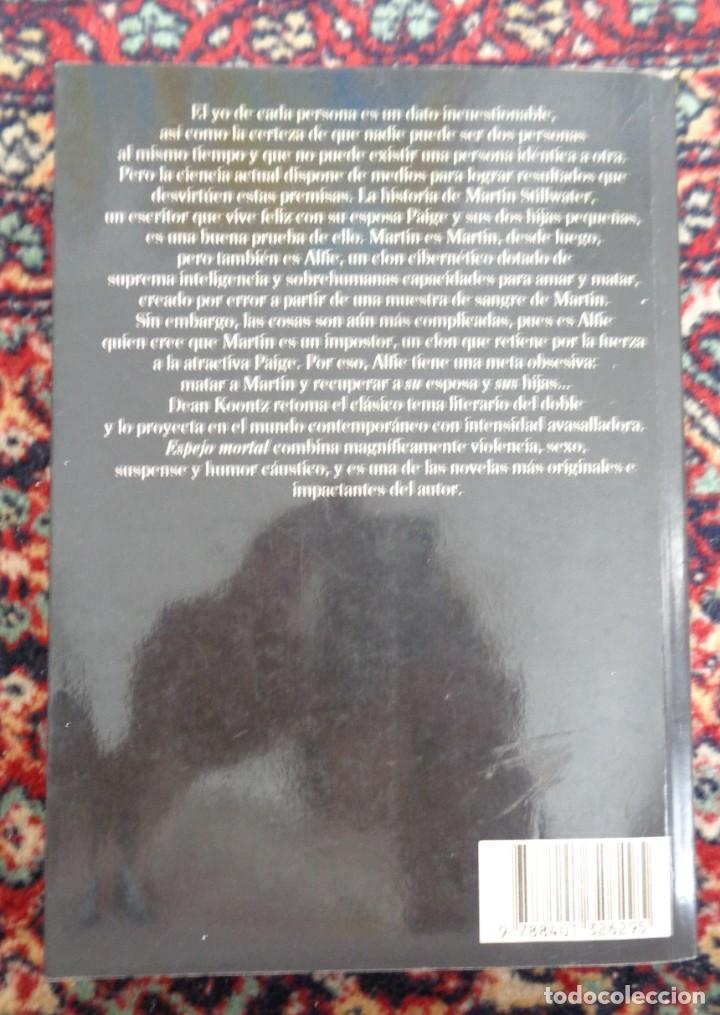 Libros: Dean Koontz ESPEJO MORTAL - Foto 2 - 252371720