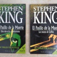 Libri: STEPHEN KING LAS MANOS DE COFFEY UNA EJECUCIO ESPELUZNANTE. Lote 252374075