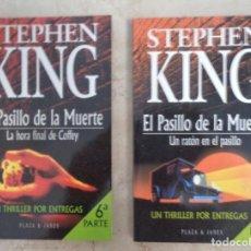 Libri: STEPHEN KING LA HORA FINAL DE COFFEY UN RATON EN EL PASILLO. Lote 252374545