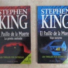 Libri: STEPHEN KING LOS GEMELAS ASESINADAS VIAJE NOCTURNO. Lote 252374980