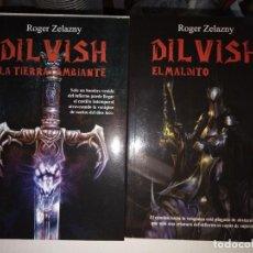 Libros: DILVISH ROGER ZELAZNY LIBROS 1 Y 2. Lote 253168455