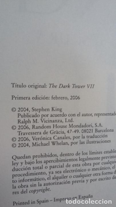 Libros: LA TORRE OSCURA VII - STEPHEN KING - PLAZA Y JANÉS - 1ª EDICIÓN ( FEBRERO 2006 ) - Foto 10 - 255395110