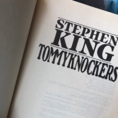Libros: STEPHEN KING - TOMMYKNOCKERS. Lote 255585985