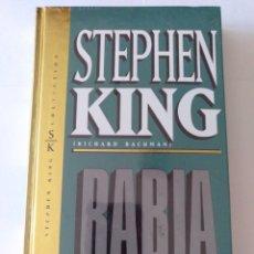 Libros: NUEVO PRECINTADO. LIBRO O NOVELA TITULADO RABIA, DEL ESCRITOR STEPHEN KING, EL REY DEL TERROR.. Lote 260354940