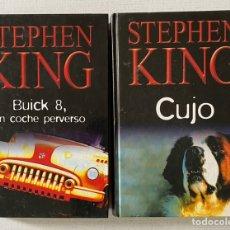 Libros: 2X1 STEPHEN KING - CUJO Y BUICK 8. Lote 261801645