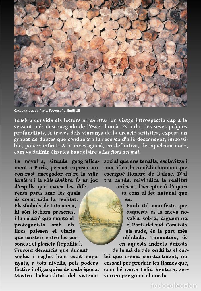 Libros: TENEBRA (en catalán), de Emili Gil. Novela ganadora del VII premio Ictineu - Foto 2 - 263950425