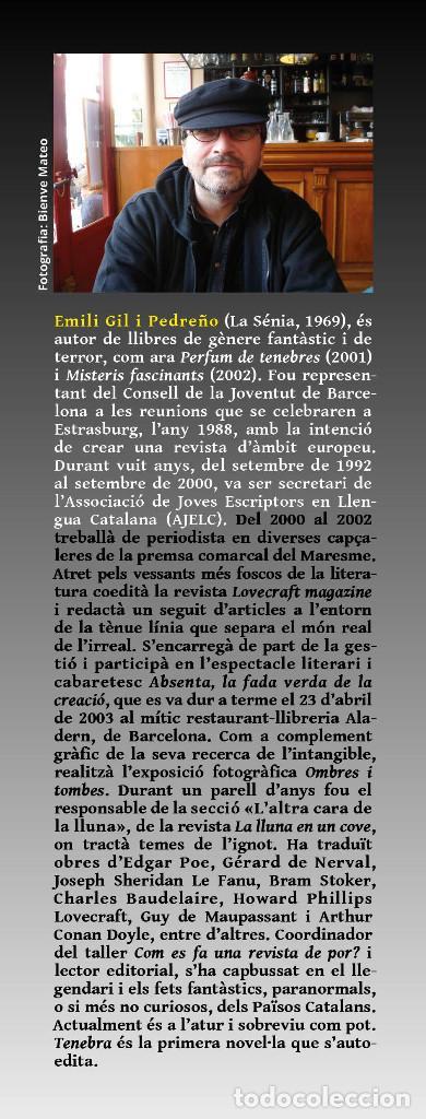 Libros: TENEBRA (en catalán), de Emili Gil. Novela ganadora del VII premio Ictineu - Foto 4 - 263950425