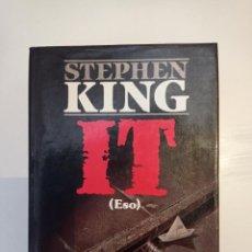 Livros: IT. STEPHEN KING. PRIMERA EDICIÓN. PLAZA&JANES.. Lote 266096043