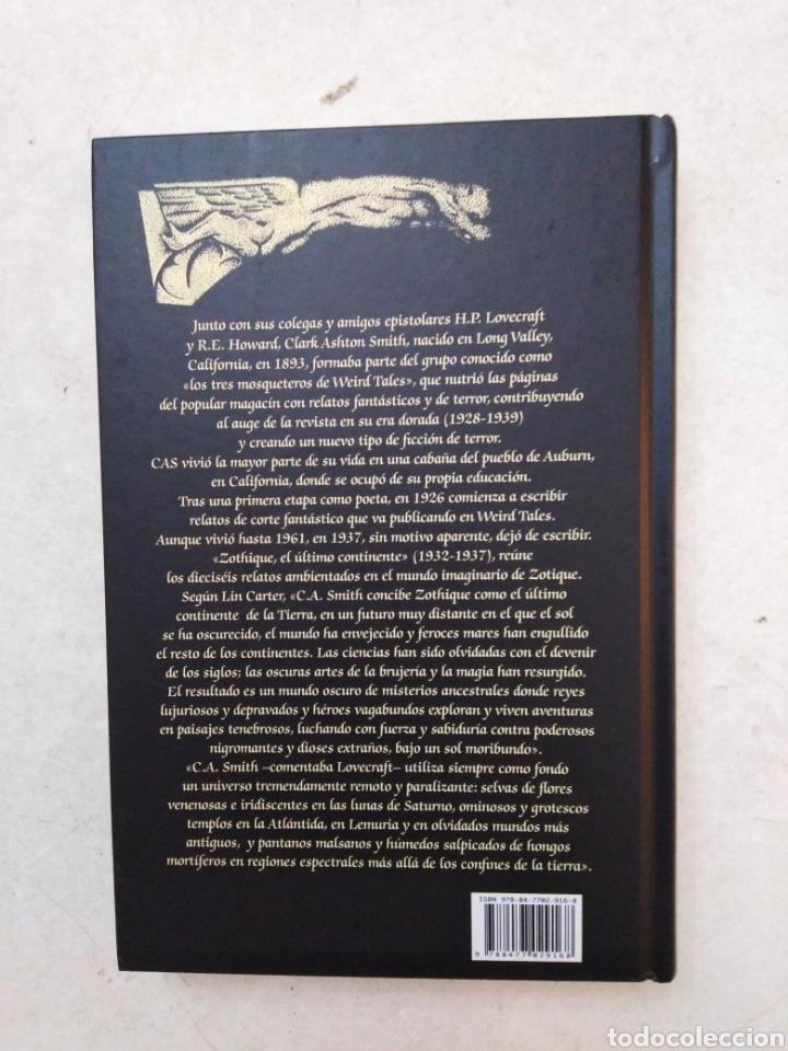 Libros: Zothique, el último continente - Foto 3 - 266973864