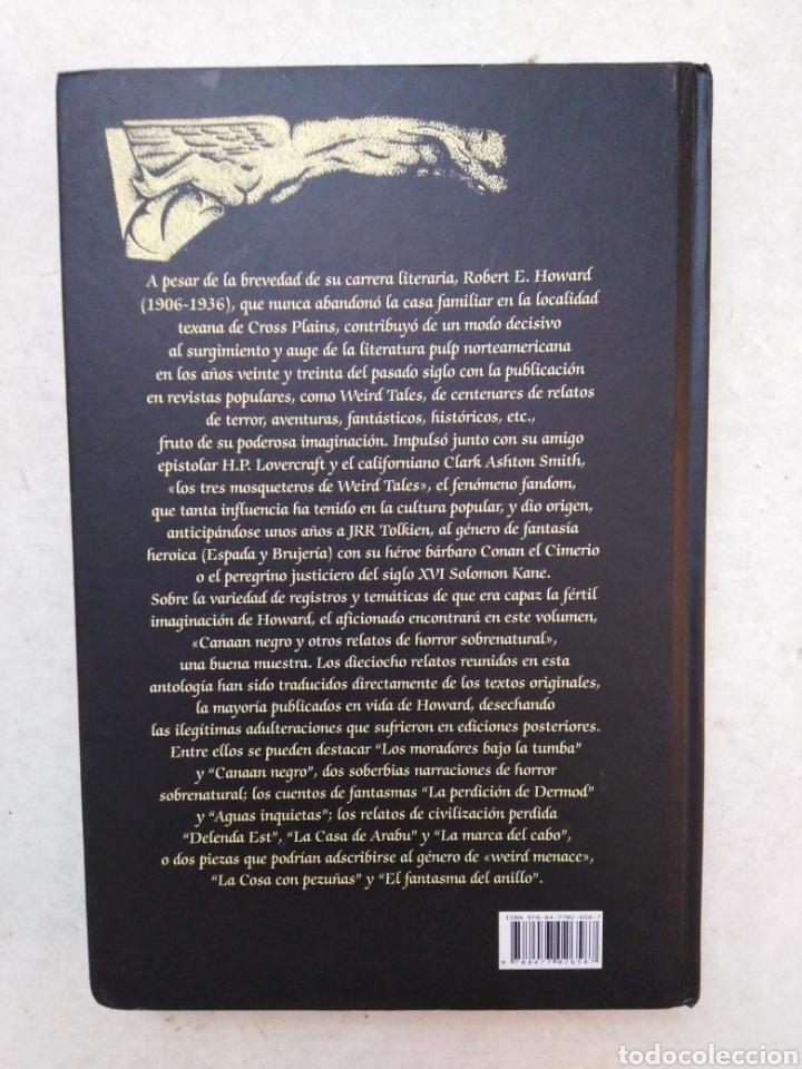 Libros: Canaan negro y otros relatos de horror sobrenatural - Foto 3 - 266974084
