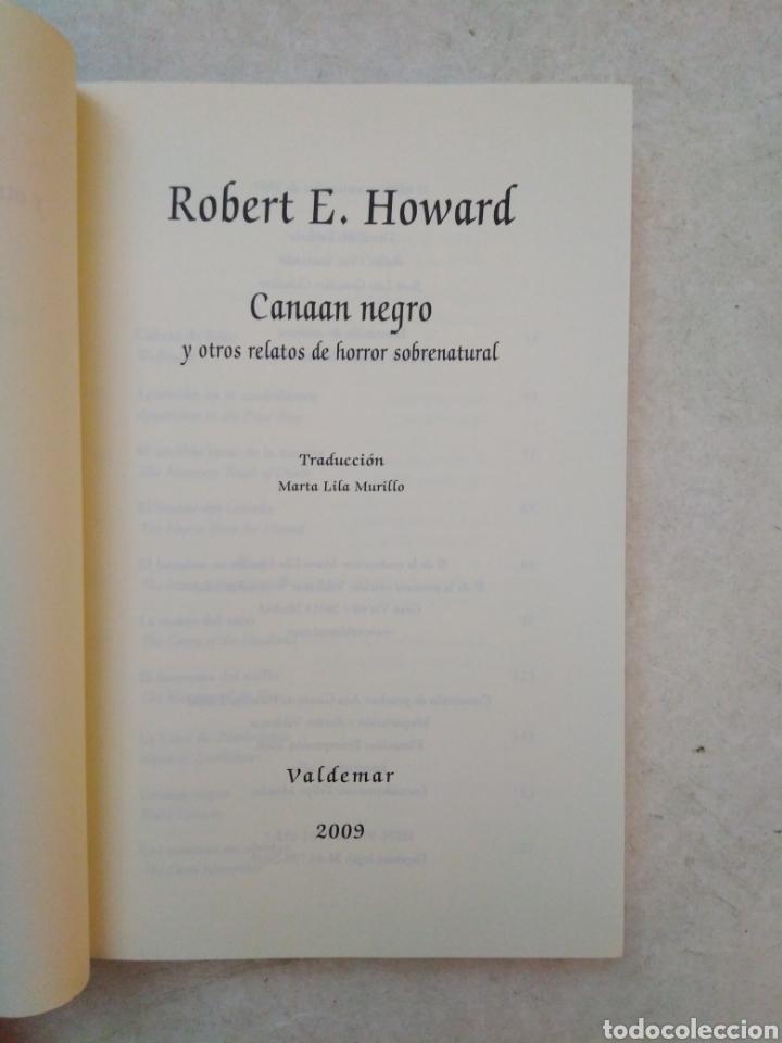 Libros: Canaan negro y otros relatos de horror sobrenatural - Foto 4 - 266974084