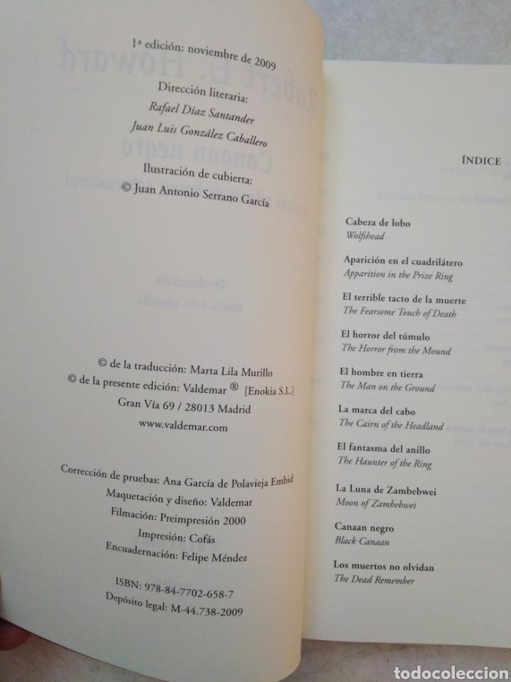 Libros: Canaan negro y otros relatos de horror sobrenatural - Foto 5 - 266974084