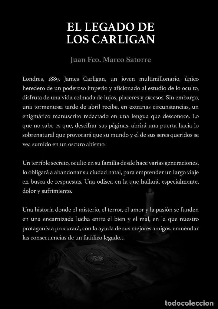 Libros: EL LEGADO DE LOS CARLIGAN, LA NOVELA QUE NO PUEDES PERDERTE. Ayuda al autor. - Foto 2 - 268165629