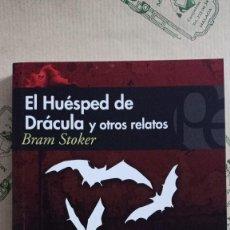 Libros: EL HUESPED DE DRACULA Y OTROS RELATOS, DE BRAM STOKER. Lote 268589559