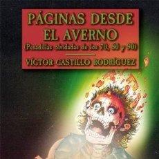 Libros: PÁGINAS DESDE EL AVERNO. Lote 271631793