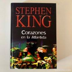 Livros: LIBRO STEPHEN KING - CORAZONES EN LA ATLÁNTIDA. Lote 274385378