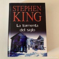 Livros: LIBRO STEPHEN KING - LA TORMENTA DEL SIGLO. Lote 274408203