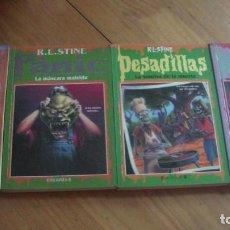 Libros: PESADILLAS R.L.STINE - LOTE 4 NÚMEROS EDICIONES B. Lote 276739553