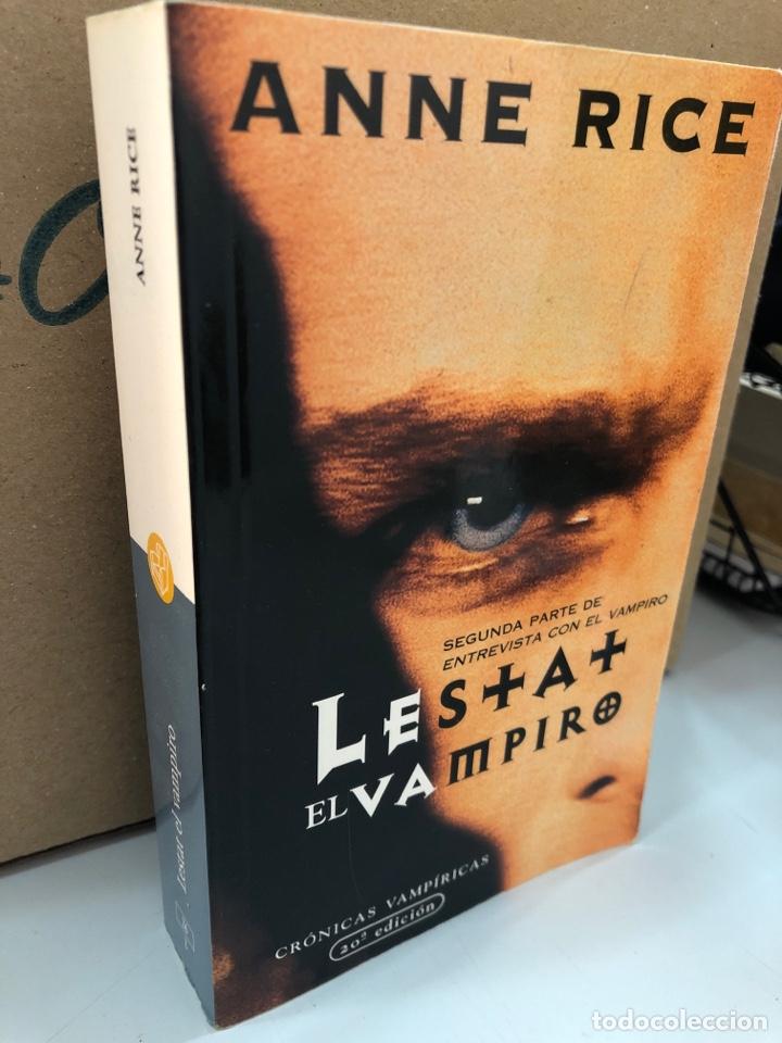 LESTAT EL VAMPIRO - ANNE RICE (Libros Nuevos - Literatura - Narrativa - Terror)
