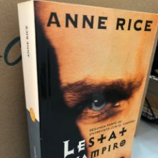 Libros: LESTAT EL VAMPIRO - ANNE RICE. Lote 276907788