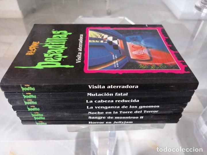 Libros: LOTE DE 7 PESADILLAS (R. L. STINE) EDICIONES PRIMERA PLANA 1998 - Foto 2 - 285498088