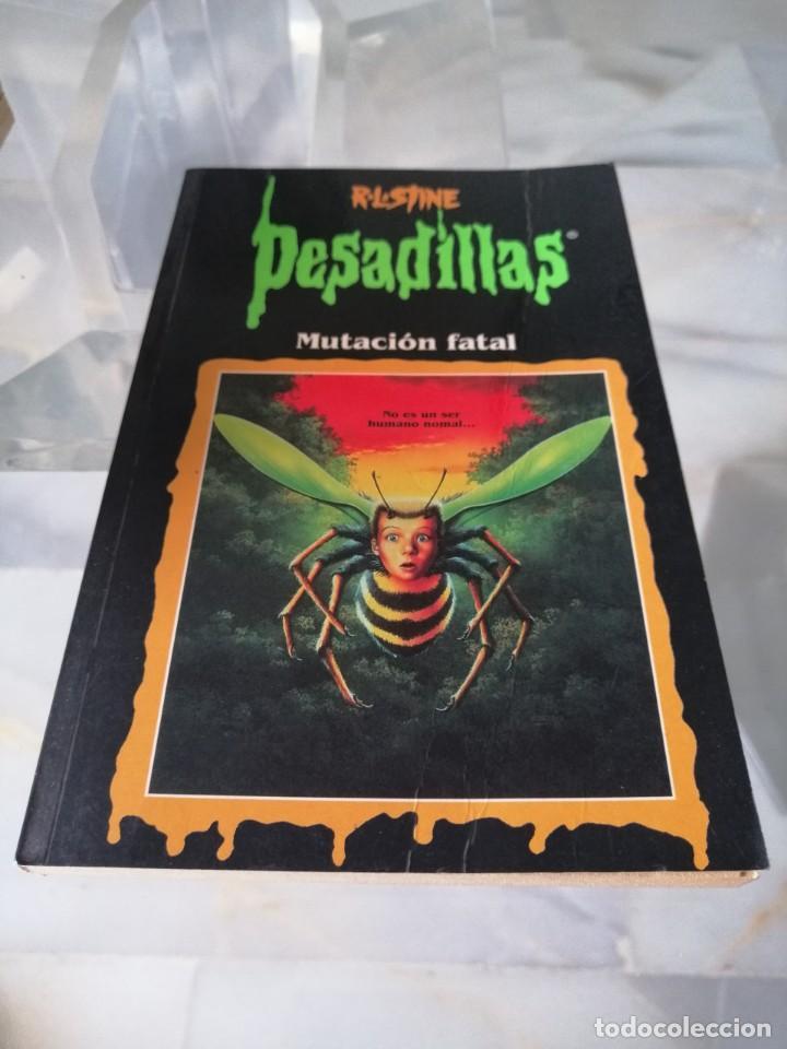 Libros: LOTE DE 7 PESADILLAS (R. L. STINE) EDICIONES PRIMERA PLANA 1998 - Foto 3 - 285498088