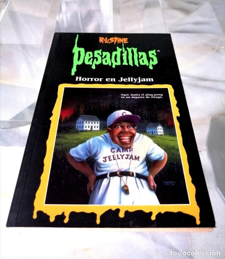Libros: LOTE DE 7 PESADILLAS (R. L. STINE) EDICIONES PRIMERA PLANA 1998 - Foto 4 - 285498088