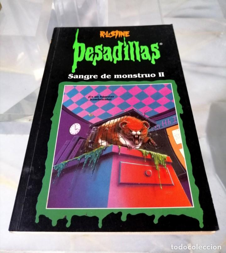 Libros: LOTE DE 7 PESADILLAS (R. L. STINE) EDICIONES PRIMERA PLANA 1998 - Foto 5 - 285498088